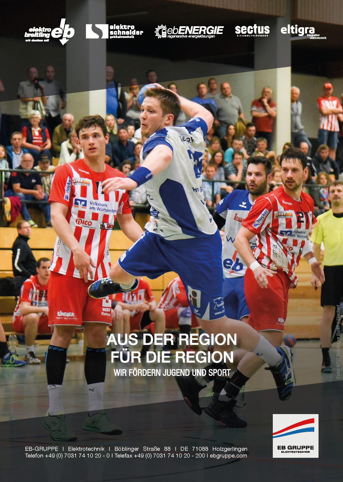 Sponsoring Handball DIN A4 HSG